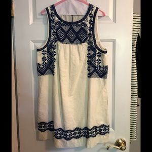 Madewell Mexican style dress